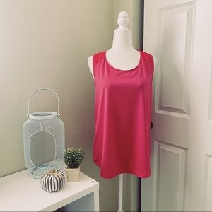 Vineyard Vines Pink Performance Fuschia Tank Top